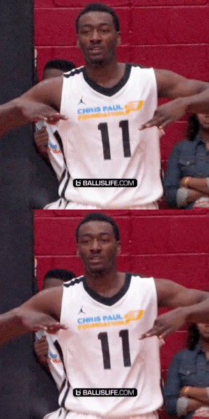 That one time John Wall had himself a dunk contest during Chris Paul's NBA Celeb Game https://t.co/nZFbt9ZK58: That one time John Wall had himself a dunk contest during Chris Paul's NBA Celeb Game https://t.co/nZFbt9ZK58