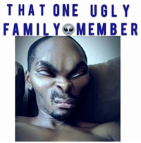 Memes, Worldstar, and Worldstarhiphop: THAT ONE UGL Y  FAMILY MEMBER Tag the ugly family member 😂😂 - - - - Follow me for more videos @kmoorethegoat - - drake omg love comedy funny wshh worldstarhiphop worldstar ratchetpeoplemeet kmoorethegoat