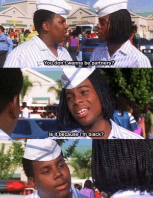 That scene from Supergirl reminded me of this scene from Good burger: That scene from Supergirl reminded me of this scene from Good burger