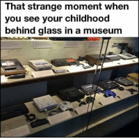 Memes, 🤖, and Glass: That strange moment when  you see your childhood  behind glass in a museum