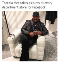Memes, 🤖, and Departed: That tia that takes pictures at every  department store for Facebook