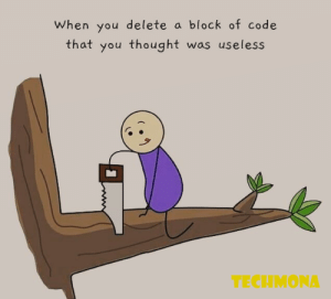 That Useless code of Block hurts most sometimes: That Useless code of Block hurts most sometimes