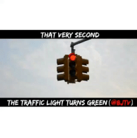 I hate when other drivers do this 😂😂😂 follow @8JTV and watch the full video, LINK on their profile: THAT VERY SECOND  THE TRAFFIC LIGHT TURNS GREEN (@BJM) I hate when other drivers do this 😂😂😂 follow @8JTV and watch the full video, LINK on their profile