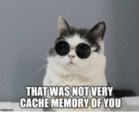Cache, Ram, and Cpu: THAT WAS NOT VERY  CACHE MEMORY OFYOU When your CPU fetches from RAM