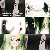 ⠀ I love this scene 😍❤ ⠀ Q; 3 favorite anime? A; Naruto,Hunter x Hunter and FullMetal alchemist ❤ ⠀ — Naruto shippuden ; Ep 488: That's because you have people  who love and protect you.  @uchiha saradas ⠀ I love this scene 😍❤ ⠀ Q; 3 favorite anime? A; Naruto,Hunter x Hunter and FullMetal alchemist ❤ ⠀ — Naruto shippuden ; Ep 488