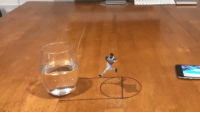 That's dope! Lil JaylenBrown dunked on that glass of water 👀🏀💦(Via @chrisashley) @worldstar WSHH: That's dope! Lil JaylenBrown dunked on that glass of water 👀🏀💦(Via @chrisashley) @worldstar WSHH