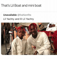 That Lil Boat & Driftwood • Follow @savagememesss for more posts daily: That's Lil Boat and mini boat  Unavailable @fxshionfits  Lil Yachty and li Lil Yachty That Lil Boat & Driftwood • Follow @savagememesss for more posts daily