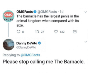 Thats one sexy barnacle via /r/memes https://ift.tt/2pQUd76: Thats one sexy barnacle via /r/memes https://ift.tt/2pQUd76