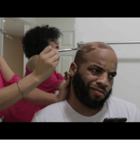 Confidence, Hairline, and Head: Thats Paint w- @cynthialuciette & @nel Stop drawing on your head & regain your hairline and confidence with scalp micropigmentation @scalpsolutionsny @callmedav1