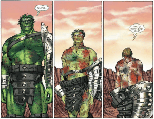 Hulk just couldnt resist: THAT'S..  THAT'S  WHAT SHE  SAID Hulk just couldnt resist