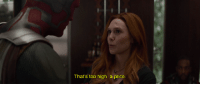 childhoodruiner:  betterthankanyebitch: ruinedchildhood: Wanda would rather let half of the population of the universe die to save a Microwave Oven. A MICOWAVE OVEN  : That's too high a price childhoodruiner:  betterthankanyebitch: ruinedchildhood: Wanda would rather let half of the population of the universe die to save a Microwave Oven. A MICOWAVE OVEN