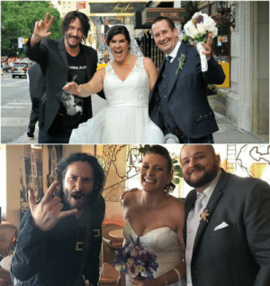 The 'One' crashing weddings instead of the matrix.: The 'One' crashing weddings instead of the matrix.