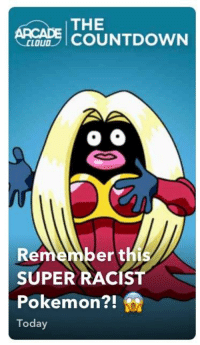 Countdown, Facepalm, and Pokemon: THE  1 COUNTDOWN  LOUD  Remember th  SUPER RACIST  Pokemon?!  Today  21