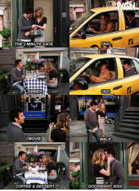 What do you think of the two minute date? #HIMYM: THE 2 MINUTE DATE.  DINNER  NMOVIE  YRO  COFFEE & DESSERT  TAXI  TAXI  WALK  GOODNIGHT KISS. What do you think of the two minute date? #HIMYM