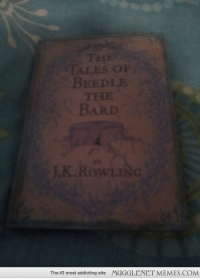 """<p>Found a bargain for 40p - tales of beedle the bard <a href=""""http://ift.tt/1r9oYwo"""">http://ift.tt/1r9oYwo</a></p>: The #2 most addicting site  MUGGLENET MEMES.COM <p>Found a bargain for 40p - tales of beedle the bard <a href=""""http://ift.tt/1r9oYwo"""">http://ift.tt/1r9oYwo</a></p>"""