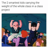 Android, Bulma, and Goku: The 2 smartest kids carrying the  weight of the whole class in a class  project so accurate ______ check out @worldofanime for sick anime shirts hoodies and more! ______ TAGS: < dbz> < dragonballz> < anime> < manga> < dbzmemes> < dragonballkai> < japanese> < saiyan> < cell> < bulma> < love> < shenlong> < goku> < vegeta> < trunks> < buu> < cabba> < android> < capsulecorp> < animelover> < otaku> < japan> < bandai> < piccolo> < whis> < beerus> < dragonball> < dbs> < amv>