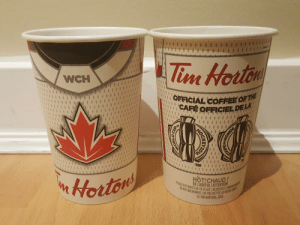 The 2010s saw the third World Cup of Hockey. I wonder if there will be another in the 2020s. These coffee cup designs were used by Tim Horton's during the Tournament. I got these cups in 2016 and have kept them ever since.: The 2010s saw the third World Cup of Hockey. I wonder if there will be another in the 2020s. These coffee cup designs were used by Tim Horton's during the Tournament. I got these cups in 2016 and have kept them ever since.