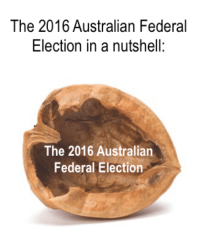 in a nutshell: The 2016 Australian Federal  Election in a nutshell:  The 2016 Australian  Federal Election