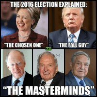 """Any questions?  Follow us for more: Murica Today: THE 2016 ELECTION EXPLAINED:  THE CHOSEN ONE  THE FALL GUY""""  """"THE MASTERMINDS"""" Any questions?  Follow us for more: Murica Today"""