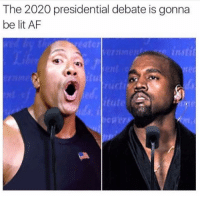 Lit, Memes, and Lit AF: The 2020 presidential debate is gonna  be lit AF  instit  utut 🔥🔥🔥 - Follow (@daaamnpics) For More! 😂