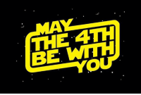 May the 4th Be With You: THE 4TH  BE WITH  YO May the 4th Be With You