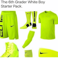 Ass, Head, and Memes: The 6th Grader White Boy  Starter Pack. Highlighter head ass @crackkheads