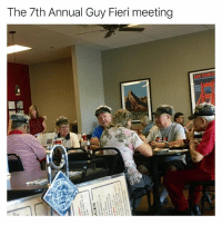 Definitely, Funny, and Guy Fieri: The 7th Annual Guy Fieri meeting Definitely went down in Flavortown