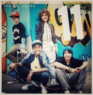 fake-album-covers:The A.V. Squad - Eleven meirl: THE A.N. SQUAD fake-album-covers:The A.V. Squad - Eleven meirl