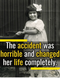 Life, Memes, and 🤖: The accident was  horrible and changed  her life completely Another inspiring story in these dark days.