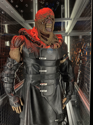 The actual Nemesis costume from Resident Evil: Apocalypse. Image shot at the Museum of Pop Culture in Seattle.: The actual Nemesis costume from Resident Evil: Apocalypse. Image shot at the Museum of Pop Culture in Seattle.