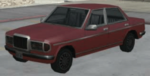 Gta V, Mercedes, and Old: The admiral is an old car from the Gta series, we in gta v have something familiar like the Glendale but i always thought the Glendale should have been the admiral and the front based off this car. This car is primarily based of a Mercedes Benz 190E. The Glendale should have been again a 50s classic