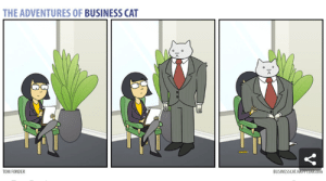 10 Comics From The Adventures Of Business Cat: THE ADVENTURES OF BUSINESS CAT  BUSINESSCAT.HAPPYJAR.cOm  TOM FONDER 10 Comics From The Adventures Of Business Cat