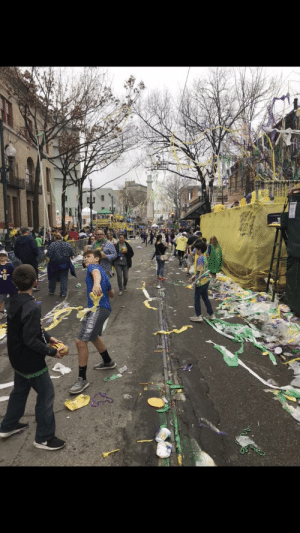 Mardi Gras, New Orleans, and New: The aftermath of New Orleans Mardi Gras