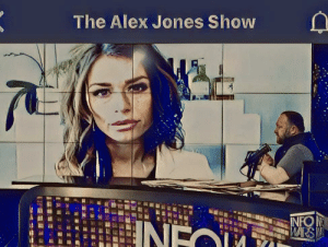 Lunch with Goldie and AJ: The Alex Jones Show  IN Lunch with Goldie and AJ