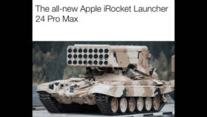 Low price of $69,420.69: The all-new Apple iRocket Launcher  24 Pro Max Low price of $69,420.69