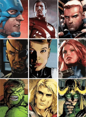 Movies, Marvel, and Thor: The amazing casting of the marvel movies. Look at Thor!