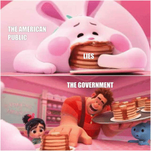 Dank, Memes, and Reddit: THE AMERICAN  PUBLIC  LIES  THE GOVERNMENT It's only getting worse by ADecentURL FOLLOW 4 MORE MEMES.