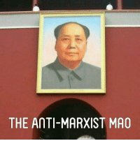 """THE AMTI-MARXIST MAO When Mao Tsetung had not yet come to the head of the Communist Party of China, he was the author of many revisionist formulations, theses and slogans which advocated the conciliation of the interests of the working class and labouring peasantry, on the other hand, with the interests of the big bourgeoisie landowners and kulaks, on the other. He instructed that """"As far as relations of work are concerned this two-sided policy is aimed, on the one hand, to help, possibilities allowing, improve the living of workers and, on the other hand, not to impede the development of the capitalist economy within reasonable limits. In the agrarian field, this two-sided policy, on the one hand, lays down the condition that the landowner should reduce the rent and the interest on loans and, on the other, exacts the payment by peasant of this reduced rent and interest"""" (Mao Tsetung, Selected Works, vol. 4, p. 13, Alb. ed.). Or in 1934 he pointed out: """"Not only we do not hinder the private economic activity, but on the contrary we encourage and stimulate it, if the owners of private enterprises do not violate the laws promulgated by the government, because the development of the private economy now is necessary, it is in the interests of the state and the people"""" (Mao Tsetung, Selected Works, vol. 1, p, 180, Alb. ed.). And, raising this question to principle, he stressed that """"The labour legislation of the People's Republic defends the interests of the workers, but it is not directed against the enrichment of the national bourgeoisie… for this development is not in the interest of imperialism, but in the interest of the Chinese people"""" (Mao Tsetung, Selected works, vol. 1, p. 209, Alb. ed.). To accept that the development of the capitalist economy furthers the interests of the people means to renounce the revolutionary road, to become servant and defender of the big bourgeoisie which works for the perpetuation of the capitalist exploitation of the working masses. I"""