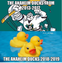 12 straight losses, I remember when they won the Pacific 5 years in a row what happened: THE ANAHEIM DUCKS FROM  2013-2017  @nhl_ref logic  THE ANAHEIM DUCKS 2018-2019 12 straight losses, I remember when they won the Pacific 5 years in a row what happened