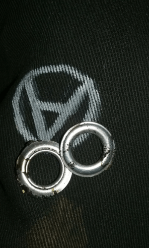 Tumblr, Blog, and White: the-anarcho-raver:Got some new charms for a necklace after burning that white supremacist flag. ✊👍