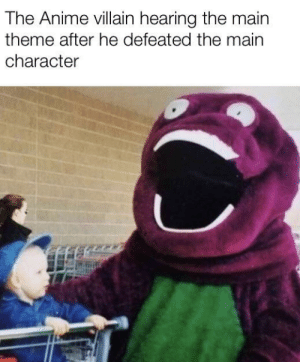 Nani the fuck? via /r/memes https://ift.tt/2N6HMht: The Anime villain hearing the main  theme after he defeated the main  character Nani the fuck? via /r/memes https://ift.tt/2N6HMht