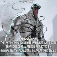 Who would you guys like to see facts on? 🤔 --- Artwork by SiaKim: THE ANTI-VENOM SYMBIOTE PRODUCES ANTIBODIES  THAT CAN CURE A PERSON APELCTED BY  RADIOACTIVITY PARASITES. DISEASES, AND DRUGS Who would you guys like to see facts on? 🤔 --- Artwork by SiaKim