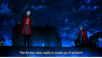 The Archer class really is made up of archers! Submitted by Ruben Pedro  People die when they are killed