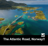 Memes, Norway, and 🤖: The Atlantic Road, Norway!!