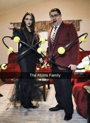 Nice play on words!: The Atoms Family Nice play on words!