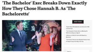 409e557c73950 The Bachelor  Exec Breaks Down Exactly How Thev Chose Hannah B as  The  Bachelorette MOST READ Target s New Affordable Bra Line Goes Up to 46G and Hell  Yeah!