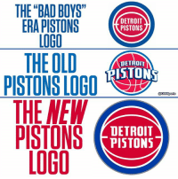 "Bad, Bad Boys, and Detroit: THE BAD BOYS""  LOGO  THE OLD  IH  DETROIT  PISTONS  DETROIT  RISTONS  @CESSports  DETROIT  PISTONS The Pistons are combining their old school with a bit of their new."