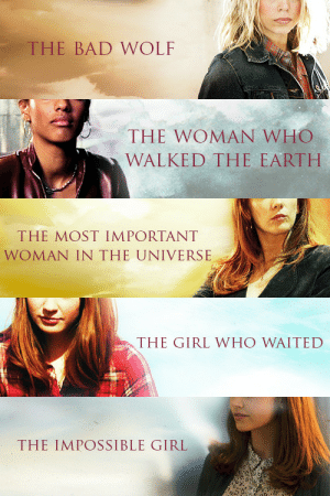 "feministdoctorwho:  lookforastar:  emikafett:  ruraljackdaw:    notice how Russel T Davies saw his companions as women and Moffat saw his companions as girls I think that says a lot         #No but it does #by painting Amy and River and Clara as 'girls' #Moffat puts them in positions with less power #He infantilizes them and reduces them to side-characters in their own stories #Because nothing about these ladies is about the #*them #it's all about the Doctor #and how he reacts to the puzzles they supply #for god's sake Amy's pregnancy wasn't even about her #It was about how the Doctor was going to figure out what was wrong with Amelia #Did you notice that when he's worried about her #he calls her Amelia #he makes her a child again to remind her (and himself and the audience) of her real position: #as the girl who waited #THE GIRL #the CHILD he met first (via isilienelenihin)     Not to mention that the Doctor named Amy/Clara whereas Rose/Martha/Donna earned their titles.  It's a subtle distinction because, technically, Amy ""earned"" her title by being a girl who did wait, but it's the impact of these monikers that's troubling.  Rose became the Bad Wolf when she ended the Time War, Martha became the woman who walked the Earth after saving the planet, and Donna was the most important woman in the universe because she saved it.  Both Amelia and Clara have been heroic and saved people, but their titles don't reflect that.  Their titles reflect who they are to the Doctor—not who they are as individuals.  Very good point! They lose their autonomy when the Doctor becomes the decided factor in their titles, instead of going out and earning them for themselves.  : THE BAD WOLF   THE WOMAN WHO  WALKED THE EARTH   THE MOST IMPORTANT  WOMAN IN THE UNIVERSE   THE GIRL WHO WAITED   THE IMPOSSIBLE GIRL feministdoctorwho:  lookforastar:  emikafett:  ruraljackdaw:    notice how Russel T Davies saw his companions as women and Moffat saw his companions as girls I think that says a lot         #No but it does #by painting Amy and River and Clara as 'girls' #Moffat puts them in positions with less power #He infantilizes them and reduces them to side-characters in their own stories #Because nothing about these ladies is about the #*them #it's all about the Doctor #and how he reacts to the puzzles they supply #for god's sake Amy's pregnancy wasn't even about her #It was about how the Doctor was going to figure out what was wrong with Amelia #Did you notice that when he's worried about her #he calls her Amelia #he makes her a child again to remind her (and himself and the audience) of her real position: #as the girl who waited #THE GIRL #the CHILD he met first (via isilienelenihin)     Not to mention that the Doctor named Amy/Clara whereas Rose/Martha/Donna earned their titles.  It's a subtle distinction because, technically, Amy ""earned"" her title by being a girl who did wait, but it's the impact of these monikers that's troubling.  Rose became the Bad Wolf when she ended the Time War, Martha became the woman who walked the Earth after saving the planet, and Donna was the most important woman in the universe because she saved it.  Both Amelia and Clara have been heroic and saved people, but their titles don't reflect that.  Their titles reflect who they are to the Doctor—not who they are as individuals.  Very good point! They lose their autonomy when the Doctor becomes the decided factor in their titles, instead of going out and earning them for themselves."