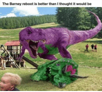 🌹 Poison 🌹: The Barney reboot is better than I thought it would be 🌹 Poison 🌹