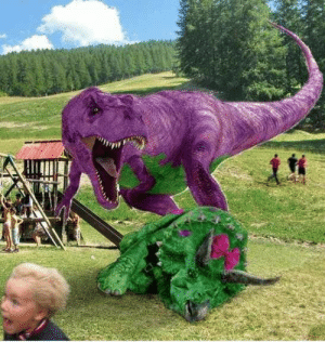 Barney, ReBoot, and May: The Barney reboot may be a little too realistic